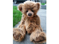 Charlie Bears William IV signed by Will