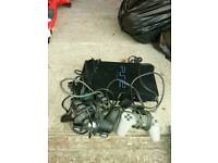 PS2 console 3 controllers 11 games