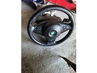 Bmw e60 lci m sport steering wheel with airbag