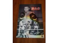 "A FABULOUS ALI THE CHAMPION 3D POSTER 26""X 18"""