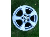 "2 x BMW Alloy Wheels, 17"", 5 x 120, ET34, rims only"