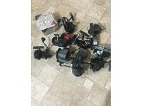 9 fishing reels old tackle joblot