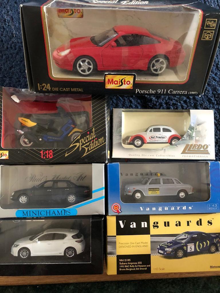 Model cars (corgi, vanguards, minichamp, maisto) | in Norwich ...