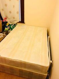 2 x Double divan with mattress brand new