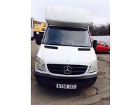 Luton Box Van - 58 Reg (Mercedes) Excellent £3950