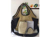 Mamas and Papas large nappy bag