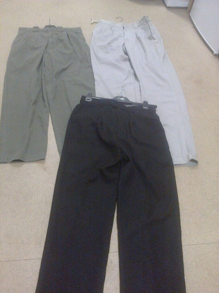 3 pairs men's trouser's
