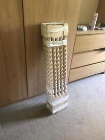15 x wooden spindles