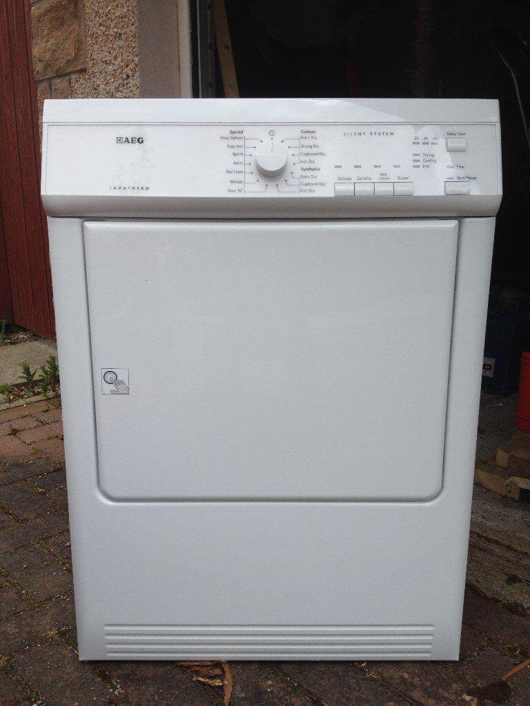 Loading Tumble Dryer ~ Aeg t av vented tumble dryer kg load in ellon