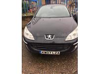 Peugot 407 2.0 Hdi automatic gearbox