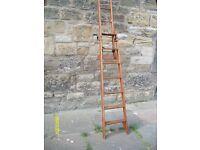 Pitch Pine Safety Ladder