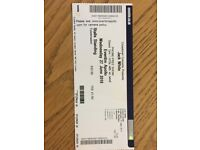 1 Ticket Standing Jack White Hammersmith Wednesday 27th June 2018 (Face Value)