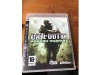 PlayStation 3 Games - Various Call of duty