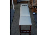 NEW KETTLER WEIGHT TRAINING BENCH