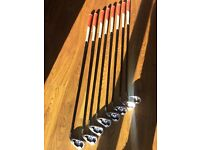 Callaway X20 golf clubs 4-PW graphite shaft