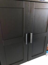 Black cupboard from IKEA