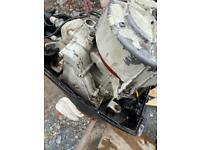8hp outboard engine complete boat motor for parts repair short shaft 2 stroke 2 cylinder engine