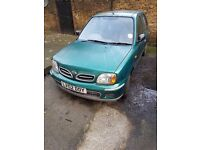 Nissan Micra 1.0 Auto for sale. £550, NEW Tyres, brakes and very cheap insurance