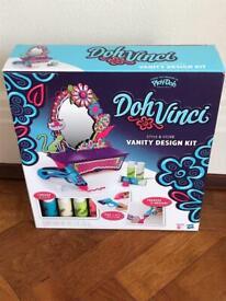 Paint your own Jewellery box / Vanity mirror - Doh Vinci Vanity Design Kit - BRAND NEW