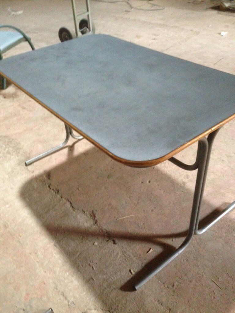 Fantastic Quality Dining Tables Formica Tops Metal Leg Frame