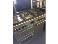 Graded stoves dual fuel range