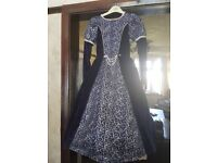 Beautiful Medieval Style dress with hooped skirt /Age 7-8 £30.00