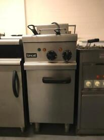 Lincat double tank electric fryer 3 phase catering restaurant hotels pubs cafe bakery takeaway