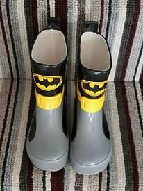 Batman wellies size 6