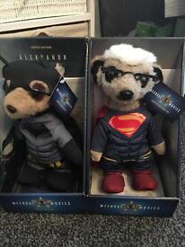 Limited edition Superhero meerkat collectibles