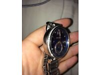 Michael Kors Watch silver and blue