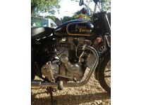 Bullet 500cc, 2 owners from new, totally reliable, classic kick-start, low mileage, well maintained