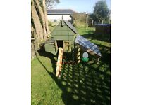 Chicken house, used, but very comfortable.