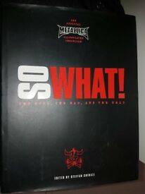 Metallica book 'So What'