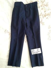 Next smart trousers age 5