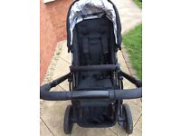 Uppa Baby pushchair and travel cot