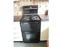 Freestanding Belling Electric Cooker with Turbo double oven and grill, good price