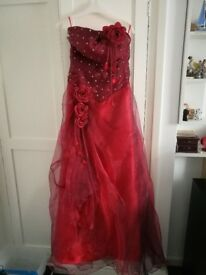 Size 8 prom dress- Red