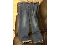 SIZE 18 JEANS BY TU CLOTHING SAINSBURY'S