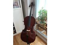 Cello full-size Stentor Conservatoire.