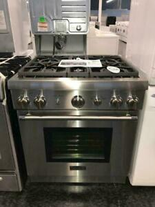 THERMADOR GAS RANGE 30 STAINLESS STEEL