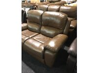 Quality leather recliner 3/2 suite