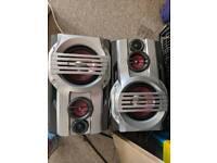 Goodman 100 watt speakers