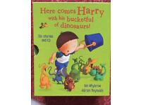 Harry and his Bucketful of Dinosaurs book set