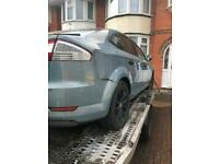 We buy all scrap cars and vans four by fours