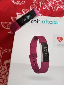 Fitbit Alta Hr as new