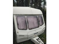 1997 Lunar premier 5 berth caravan