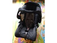 Mothercare baby car seat, only used once,