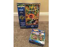 Ninja turtles unopened puzzle and hot wheels
