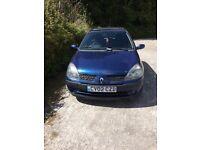 Renault Clio 1.2 16v - Good Condition - 12 mths MOT