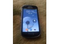 Samsung Galaxy S3 Mini GT-I8190N 8GB Pebble Blue (Unlocked)